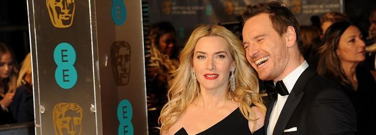 À la cérémonie des BAFTA (14 février 2016)